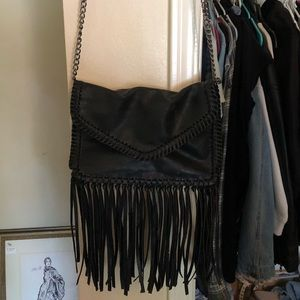 Fringe crossbody purse!