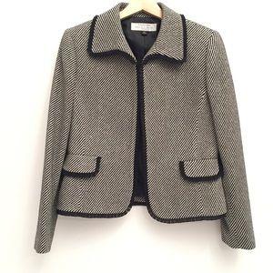 Tahari Wool Blend Blazer EUC 8P