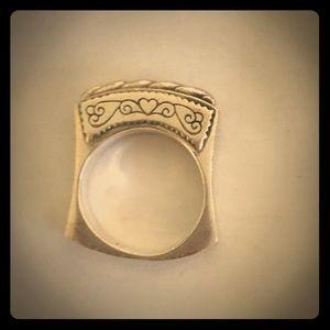 Beautiful unique Brighton Ring.