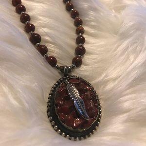 Unique Feather Necklace