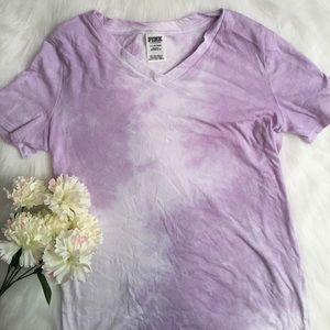 VICTORIAS SECRET PINK tie dye t-shirt