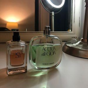 Giorgio Armani perfumes set