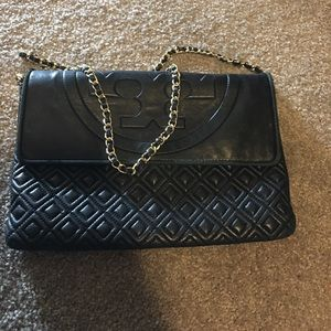 Tory burch quilted handbag