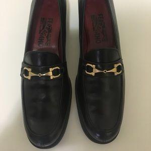 SALVATORE FERRAGAMO SPORT  Leather Loafers