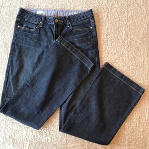 🌺 GAP Long & Lean Flare Denim Jeans EUC 🌺