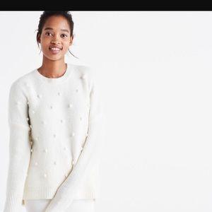 Madewell bobble sweater xs