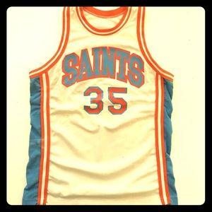 All Saints Men's Vintage Basketball Jersey