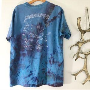 Vintage Bahamas Ice Dyed Shirt XL