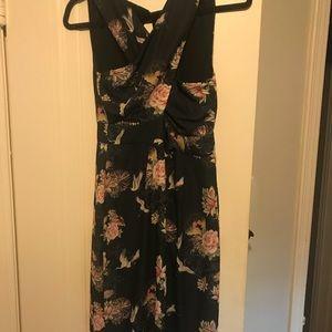 Asos Petite Floral Cocktail Dress
