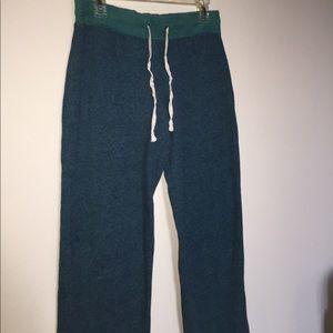 Xhilaration Teal/Green Comfy Pants - XS