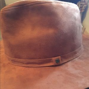 Brixton Accessories - Brixton Highland Faux Suede Floppy Fedora Hat 3acaf1761c00