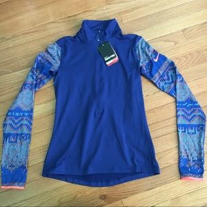 Nike Pro Dri-Fit Quarter Zip Top. New with Tags