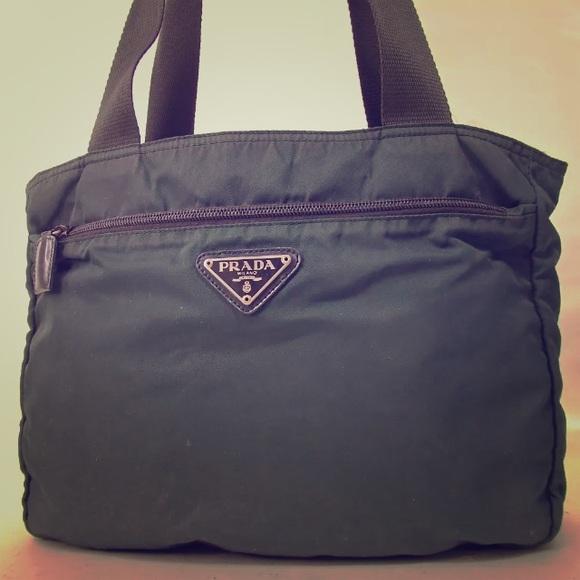 Prada Bags   Sale Nylon Shoulder Bag   Poshmark 8e54a919fd