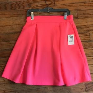 Hot pink skirt from Charlotte Russe new with tags