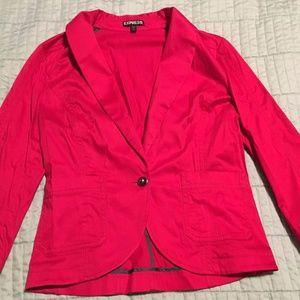Bright Red Express Brand Blazer Size 10