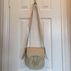 Anthropologie Pilcro Leather Messenger Bag