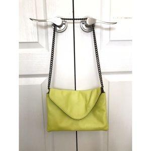 J. Crew leather envelope bag