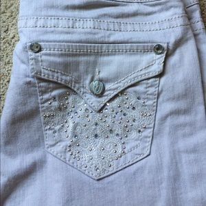 Denim - Nine West Bling Capri Jeans