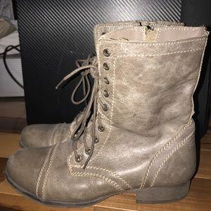 """Women's Steve Madden """"Troopa"""" Combat Boots"""