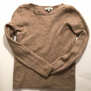 Madewell Oatmeal Sweater Merino Wool Small