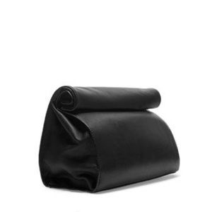ZARA Roll Up Leather Effect Bag