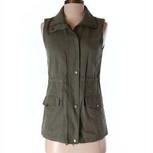 Hive & Honey Green Utility Vest