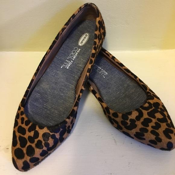 5ad7e5f757e6 Dr. Scholl s Shoes - Leopard print comfy Dr. Scholls flats