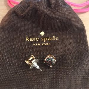 💯Authentic Kate Spade multi colored earrings