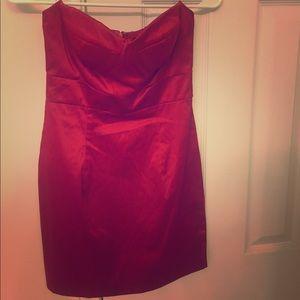 Red Mini Dress