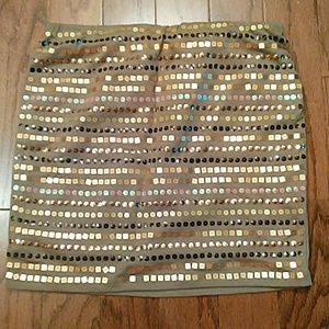 Worn once sequins skirt