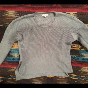 Madewell Landmark Texture Side Zip Sweater