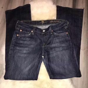 7FAM 7 For All Mankind Flip Flop Bootcut Jeans 26