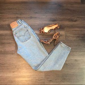 Vintage Levi's 512 slim tapered leg jeans Sz 26