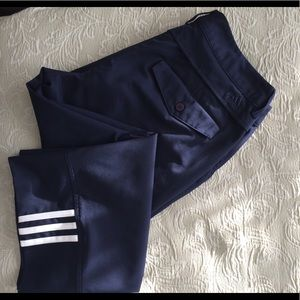 Adidas ladies navy capri golf pants size 4