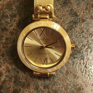 Ann Klein Watch!  Gold hardware! New!