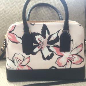 Kate Spade Pale Pink Floral Purse