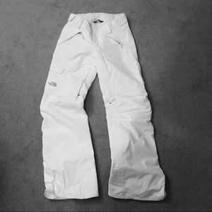 The north face women's  waterproof snow pants ⛷🏂