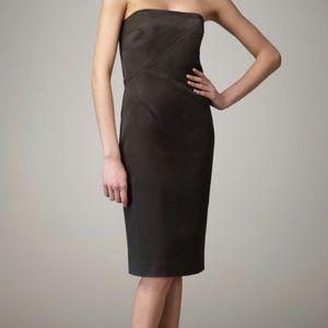 Michael Kors Black Strapless Dress