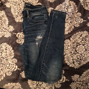 American Eagle Holy Jeans