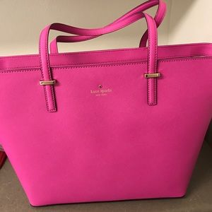Hot Pink Kate Spade Tote Bag