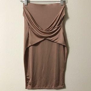 Misguided Wrap Pencil skirt Sz: S