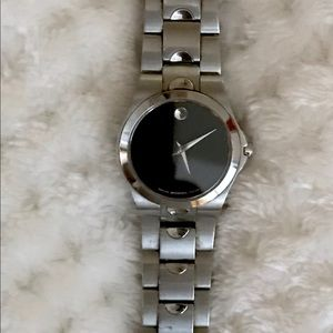 Movado classic watch. Stylish watch. Must have
