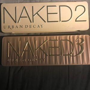 Urban decay naked 2&3 palette