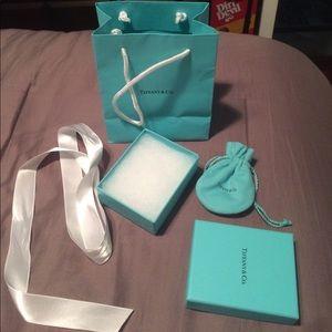 Tiffany & Co. gift bag and box