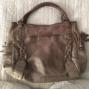Kenneth Cole Grey Satchel Bag