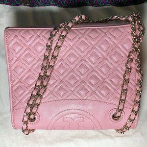 e63a83d2585 Tory Burch Bags - Tory Burch Fleming Medium Bag Rose Sachet