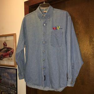 19aedd8da5 C Port   Co Shirts - Rare Men s eBay Cotton Blue Denim Shirt