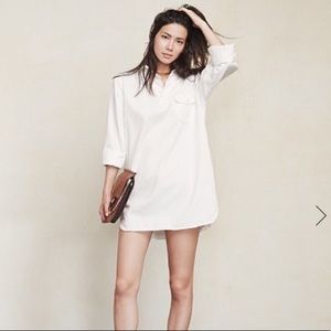 REFORMATION shirt dress