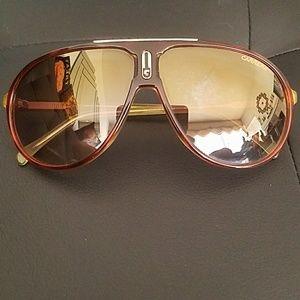 Carrera UV protection aviator sunglasses