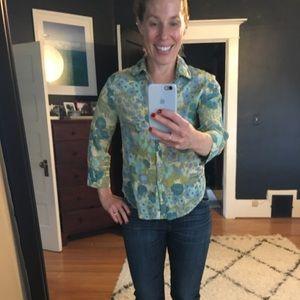 Super cute Anthropologie blouse